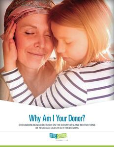 cancer donor research cover