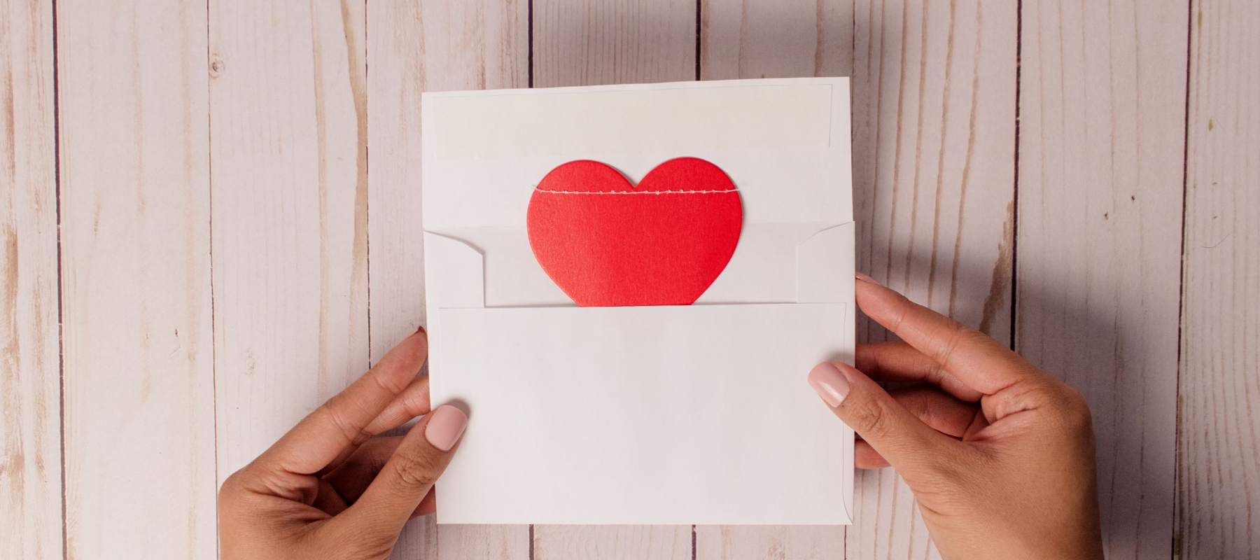 Heroic Fundraising Blog Featured Image Heart Envelope Mail