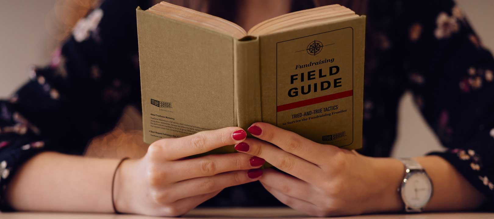 fundraising field guide truesense marketing