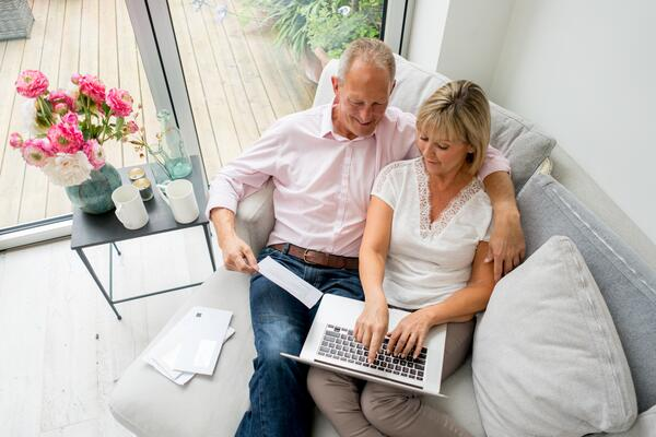 Senior Couple Direct Mail Digital Online
