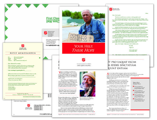 TrueSense Marketing The Salvation Army Mid Level Donor Prospectus