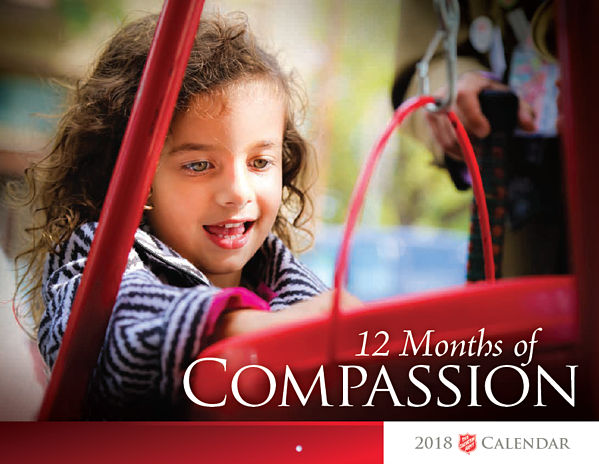 The Salvation Army Mid Level Donor Calendar
