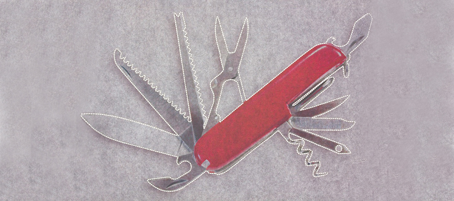 heroic fundraising featured image swiss army knife