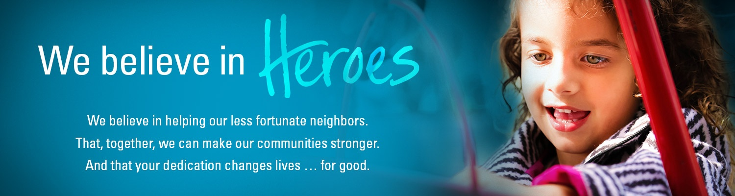 We believe in helping our less fortunate neighbors.