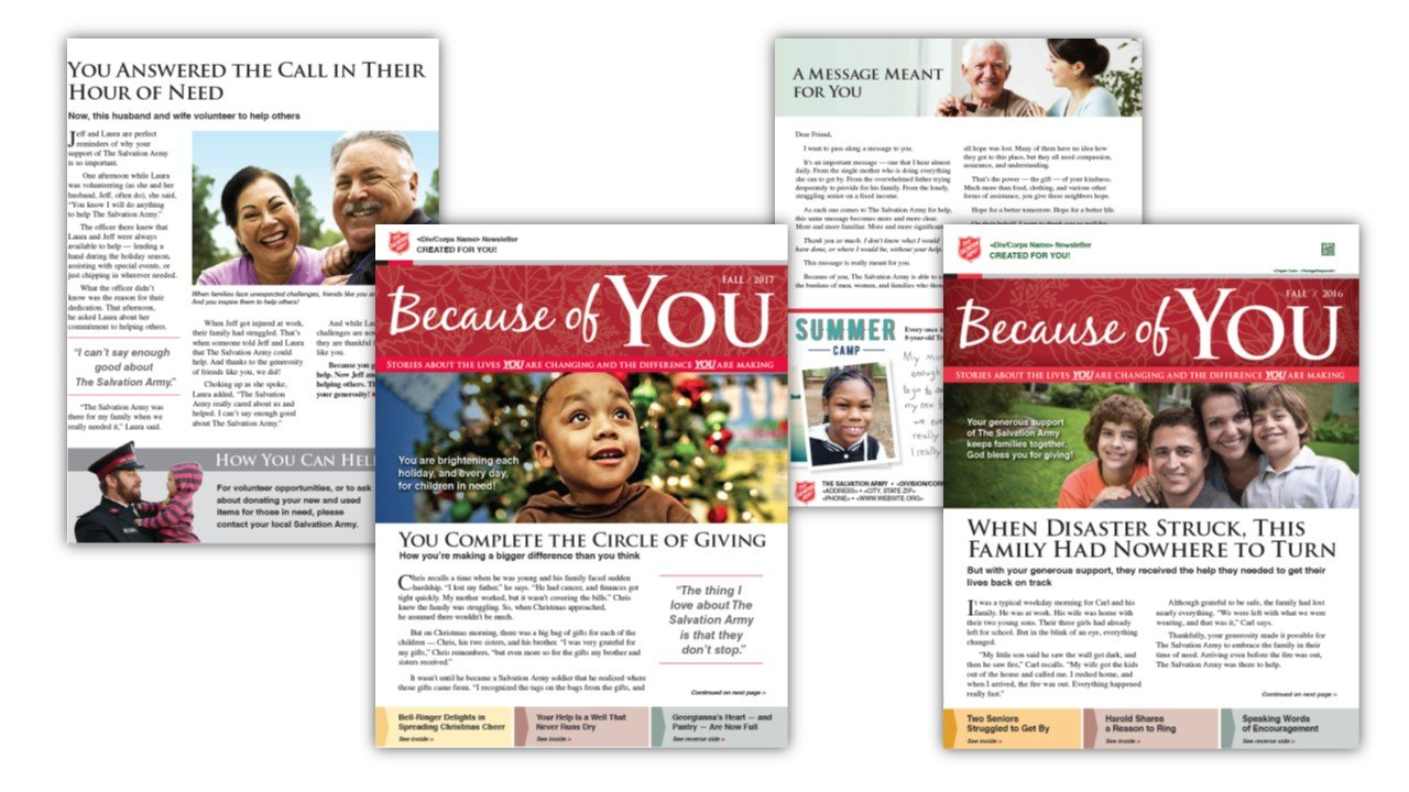 Salvation Army Donor Newsletter.jpg