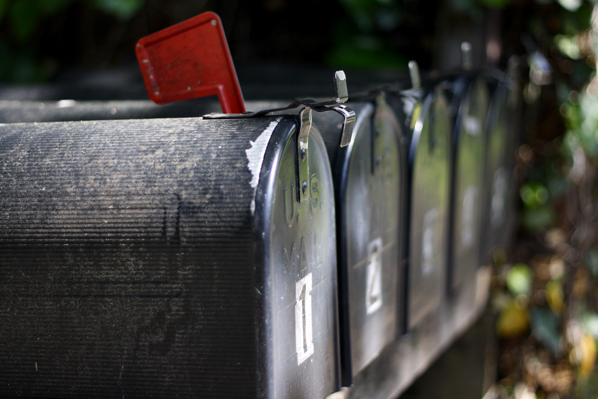 donor direct mail mailbox